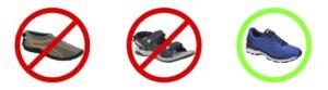 No aquashoes