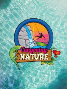 Canyoning Nature Logo